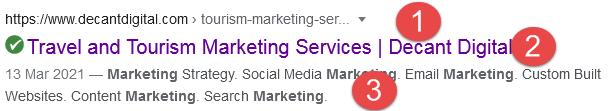Meta Description Tourism Marketing