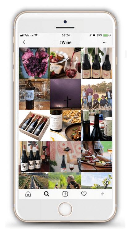 #Wine marketing image