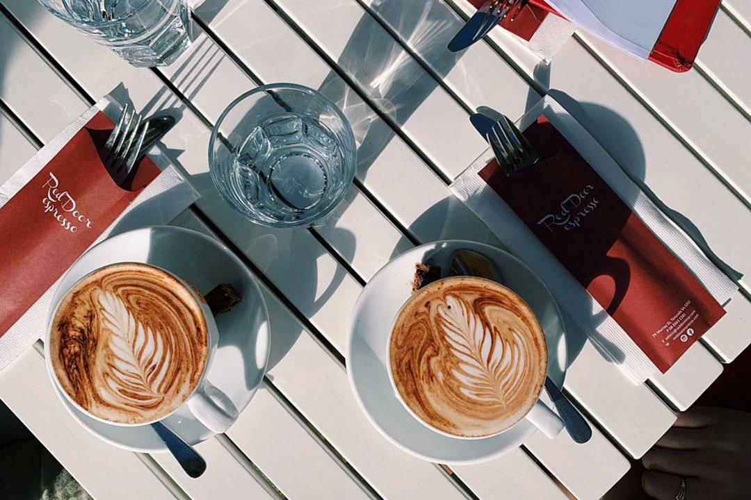 Red Door espresso - Tanunda licenced cafe.